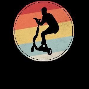 Stunt Scooter Roller Rollerfahrer Geschenk