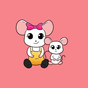 Maus Maske Mäuse