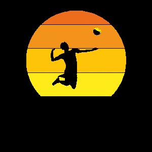 BEACH VOLLEY Original Geschenk Leidenschaft Volleyballspieler