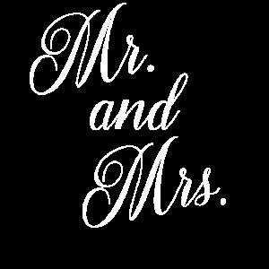Hochzeit Word Art Herr und Frau