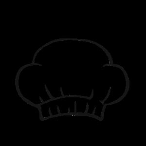 Kochmütze Köchin Sternekoch Hobbyköchin Koch