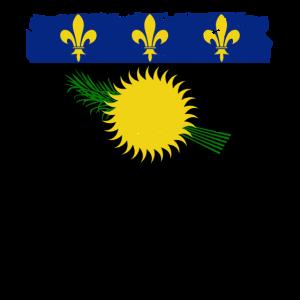 Guadeloupe Flagge - Flag of Guadeloupe