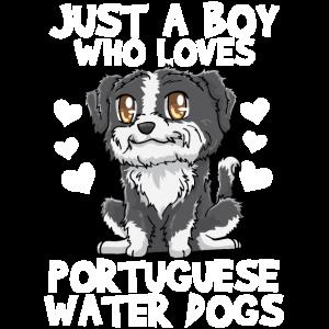 Kawaii portugiesischer Wasserhund