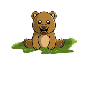 Braunbär Grizzly Bät