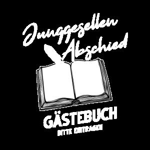 Junggesellen Abschied Gästebuch