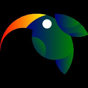 Kolibri im goldenen Schnitt