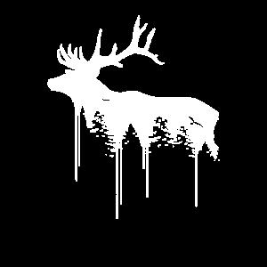 Hirsch Wald Natur Reh Umweltschutz Tierschutz
