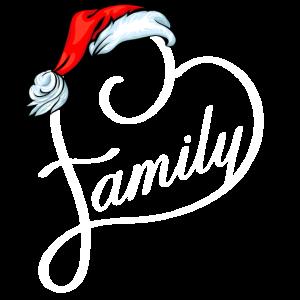 Santa Familienherz