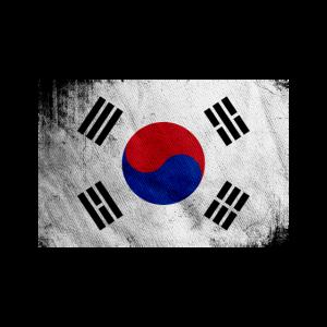 Süd Korea Flagge