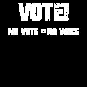 Abstimmung keine Abstimmung keine Stimme