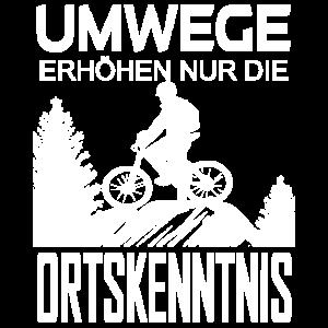 Mountainbike Biker Fahrrad Spruch