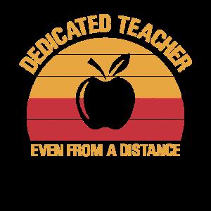 Engagierter Lehrer auch aus der Ferne