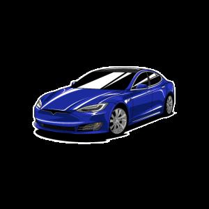 Blue Model S