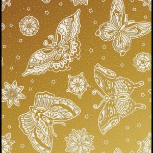 Schönes Gold Muster Geschenk Glitzer Silber Farbe
