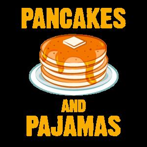 Pancakes and Pajamas Pfannkuchen Dessert Süß