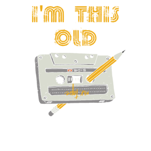 I'm this old - Audio Kassette Geburtstags Shirt