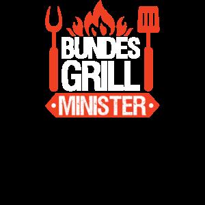 Grillmeister Geschen Grillen Bundes Grillminister