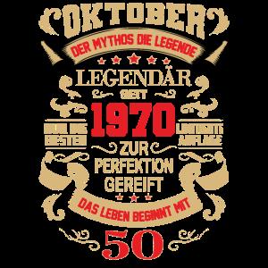 50 Geburtstag Oktober 1970 Geschenk Geschenkidee