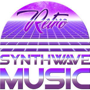 80s Neon Retro Synthwave Music Electronic Wave