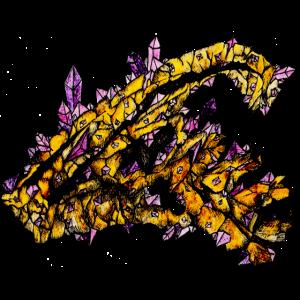 Parasaurolophus von Cristal Creepy