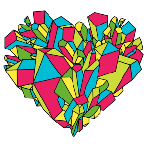 Buntes Herz