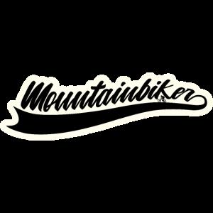 Mountainbike Mountainbiker Logo Fahrrad