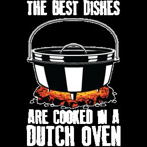 Beste Gerichte Grill BBQ Lagerfeuer Chef Dutch Oven