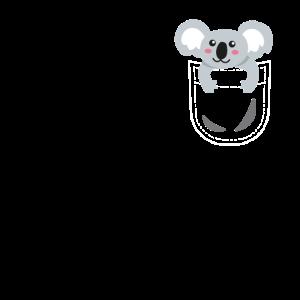 Koala Tasche Koalabär Teckel Pocket Animals