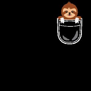 Faultier Tasche Sloth Pocket Animals