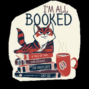Ich bin All Booked Book Lover Bücher lesen Bücher