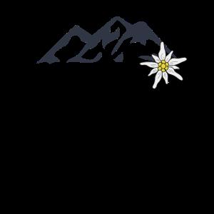 Berge und Edelweiss