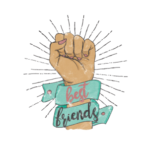 Beste Freunde Best Friends Forever BFF Geschenk