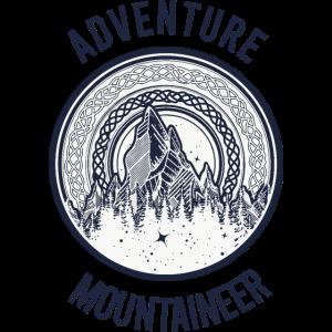 Abenteuer Bergsteiger Adventure Mountaineer