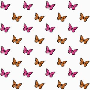 Schmetterling Motiv Mundschutz