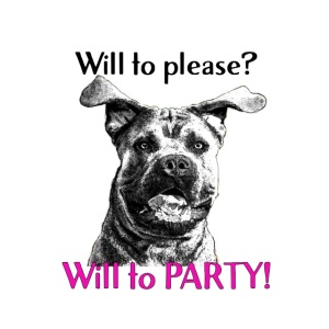 will to PARTY cane corso