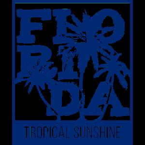 Florida Inverted Blue