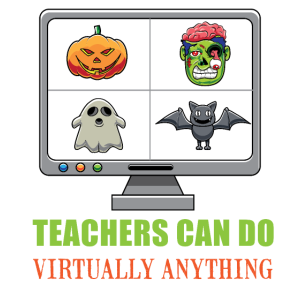 Halloween Online Teaching Shirt - E-Learning lehren