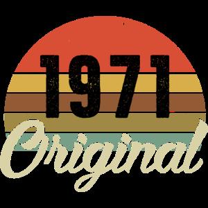 1971 Original Geburtstag