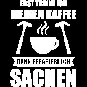 Handwerker Kaffee Baustelle Handwerk Geschenk