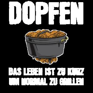 Dutch Oven Dopfen Dopf Geschenk
