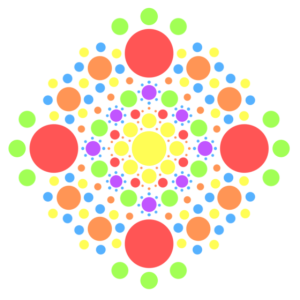 Pünktchen Mandala