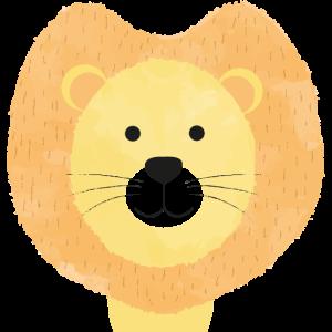 Löwe Gesichtsmaske