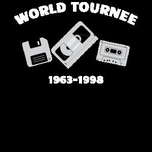 Never Forget Welt Tournee 1963 - 1998 Fun Geschenk