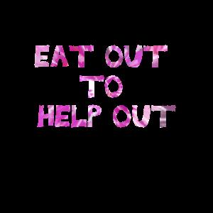Essen Sie aus, um zu helfen