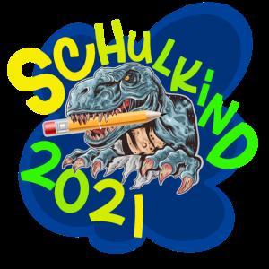 Schulkind 2021 Dinosaurier T Rex