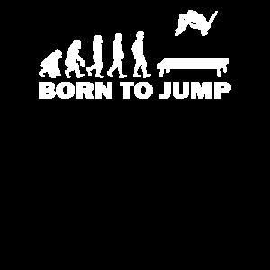 Trampolin springen Spaß Geschenkidee