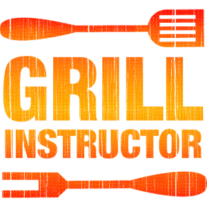 Grill Instructor grillen Barbecue Grillmeister Fun