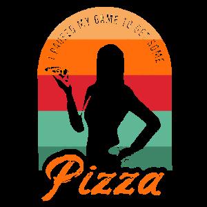 Gaming Pizza Gamer Girl Gaming Pizza Gamer Girl