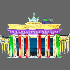 Brandenburger Tor Berlin PopArt ickeshop BachBilde