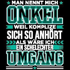 Onkel Schlechter Umgang Komplize Patenonkel